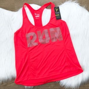 "Old Navy Active ""Run 24/7"" Racerback Tank size MP"
